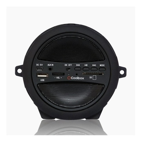 coolbox - parlante bluetooth con subwoofer s-11 negro