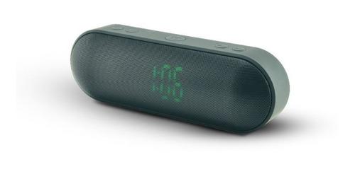 coolbox - parlante bluetooth mega bass usb/fm/ts/aux negro
