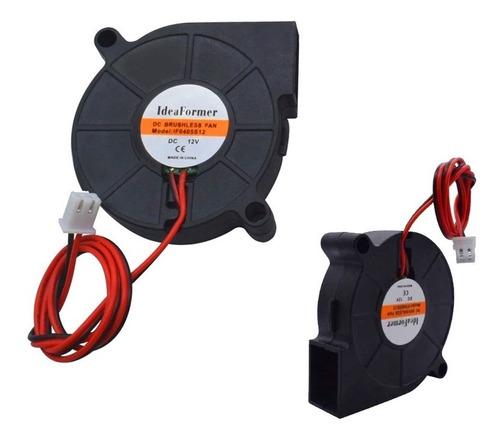 cooler 12v ventoinha radial impressora 3d cnc