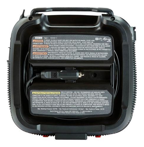 cooler 8 litros 12v + inflador 12v black+decker bdc8-bdinf12