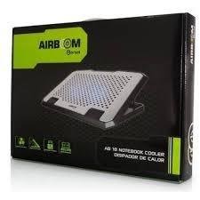 cooler airboom ab-055 glacier, alimentación usb