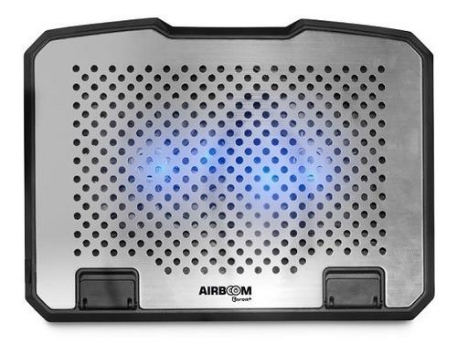 cooler aluminio laptop 2ventilds 15.6  6niveles iblue+1usb