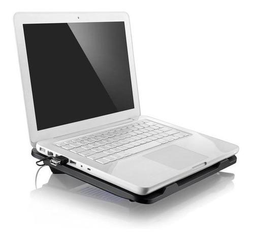 cooler apoio exausto usb notebook multilaser ac263 slim
