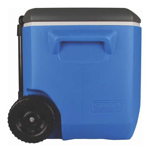 cooler caixa térmica c/ rodas coleman 57 litros - original