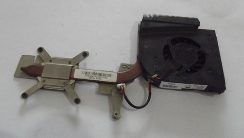 cooler com dissipador do notebook hp dv6000 f6d0-ccv