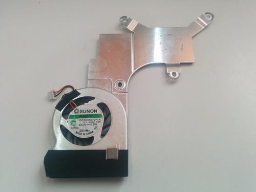cooler com dissipador gc053507vh-a netbook acer one kav60