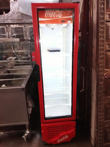 cooler congeladora cocacola de acero inoxidable con garantïa