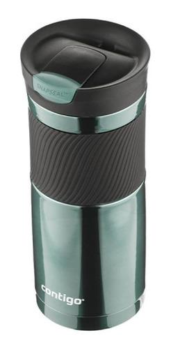 cooler contigo original 20 oz verde snapseal somos tienda