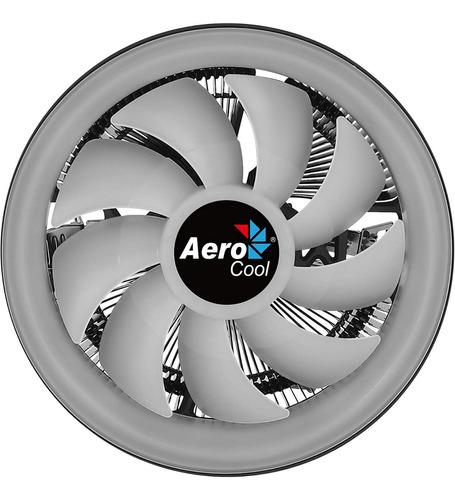 cooler cpu aerocool core plus argb 1151 am4 pwm fan rgb