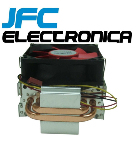 cooler cpu fan disipador nisuta intel amd am3 1151 1155 1156