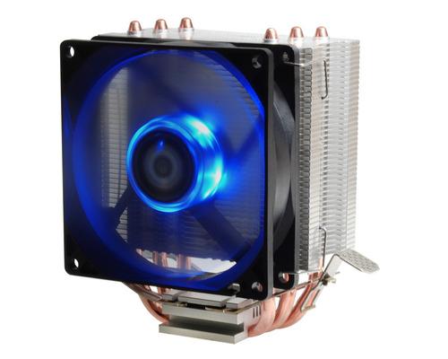 cooler cpu id-cooling se-903 intel y amd cooler led azul