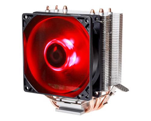 cooler cpu id-cooling se-903 intel y amd cooler leds rojos