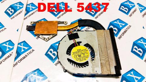 cooler dell 5437 s/video dfs481305mc0t dissipador original