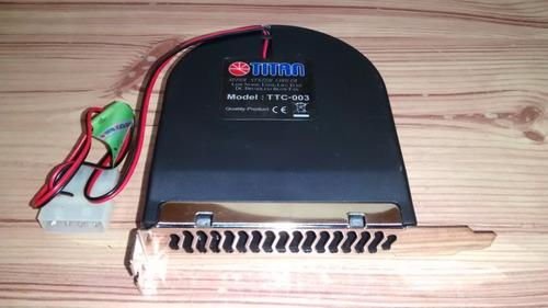 cooler extractor de calor titan pc gabinete bahia pci nuevo