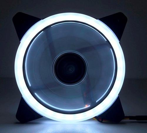 cooler fan dupla face 120mm c/30led t 3cor p/gabinete pc cpu