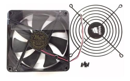 cooler fan fonte grelha corsair 140mm  12v  fonte