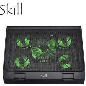 cooler gamer skill p/notebook h501-bk iluminado 17,5 - 2 usb