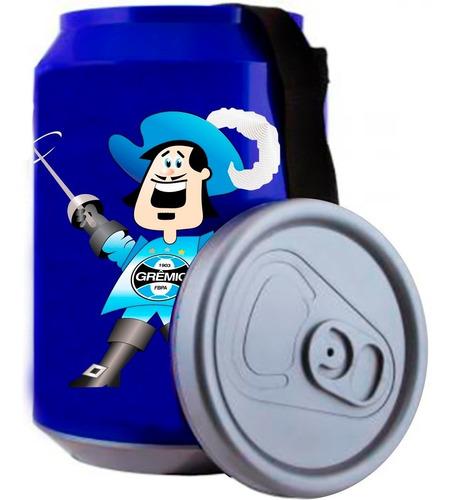 cooler grêmio térmico bebidas azul