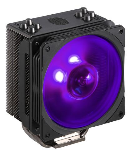 cooler master hyper 212 rgb blac cooler procesador amd intel
