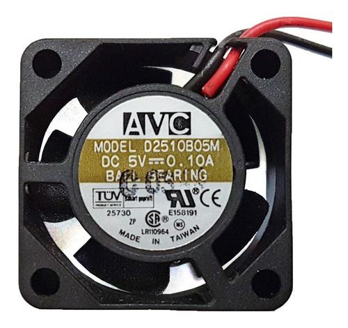 cooler micro ventilador 25x25x10mm 5v rolamento duplo