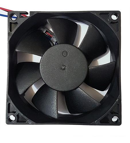 cooler micro ventilador 80x80x25mm 24v 80x80 rolamento duplo