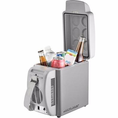 cooler mini geladeira portátil 7lts veicular 12volt + brinde