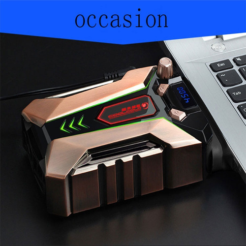 cooler notebook gamer extractor ventilador ice troll 7
