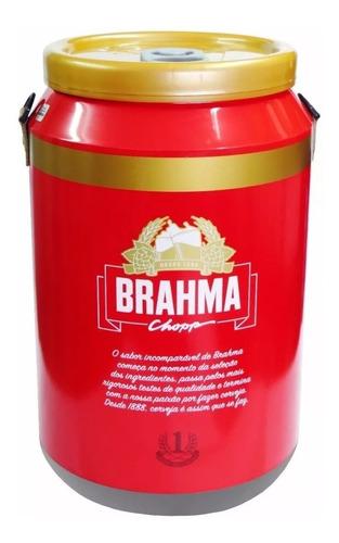 cooler p/24 latas cerveja novo da brahma - dr. cooler ambev