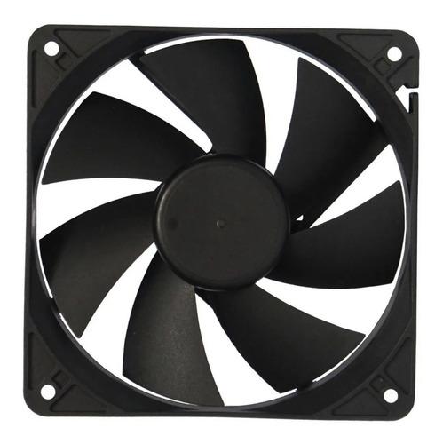 cooler para gabinete noganet 120mm 12cm fan molex