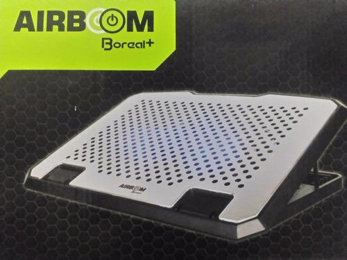 cooler para laptop airboom de 14   a 17 pulgadas