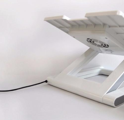 cooler para laptop e tablet (cor branco)