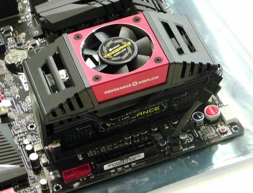 cooler para memoria ram corsair vengeance airflow