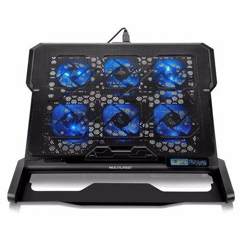 cooler para notebook multilaser hexa cooler até 17 pol ac282
