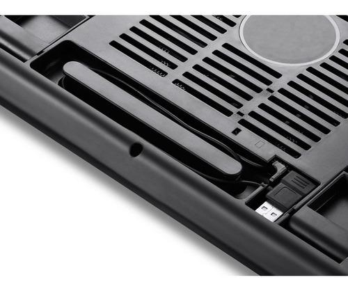 cooler para ventilação de notebook razer silencioso c led