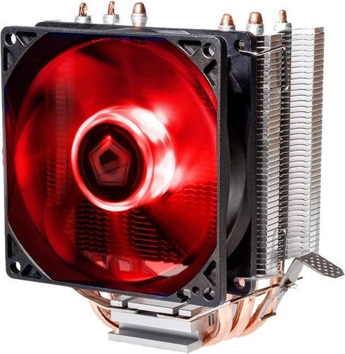 cooler pc cpu led azul o rojo intel i3 i5 i7 i9 y amd ryzen am4