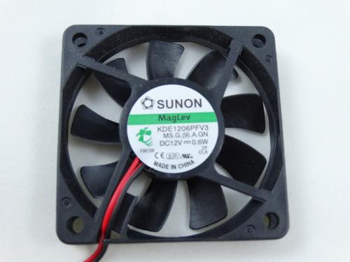 cooler / rotary fan - sunon modelo kde1206pfv3 - dc 12v~0.6w