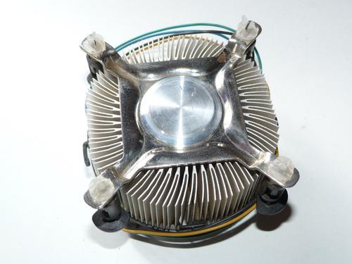 cooler stock intel para socket 775 4 pines