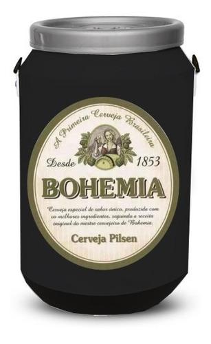 cooler térmico bebidas bohemia preto cerveja