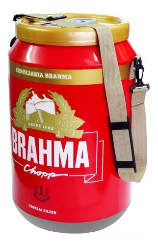 cooler térmico brahma 24 latas doctor cooler original ambev
