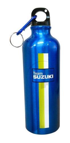 cooler termo vaso alumino inoxidable suzuki azul