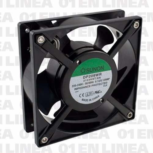 cooler turbina ventilador sunon 220v 120x120x38 2123 dp209wr