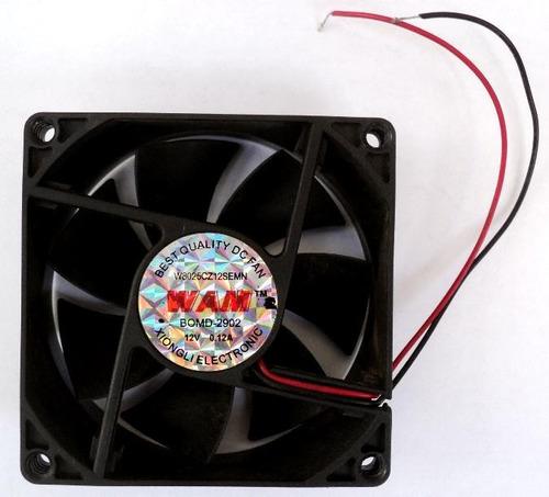 cooler ventilador 8 cmts para case gabinete fuentes