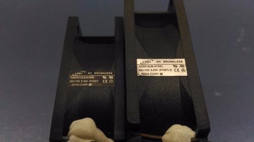 cooler ventiladores projetor ad0812ub-a73gl ad0712dx257600