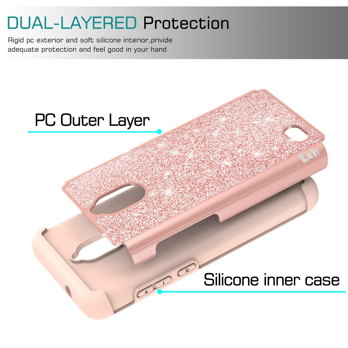 Coolpad Illumina Funda (3310a) With Hd Screen Protector For