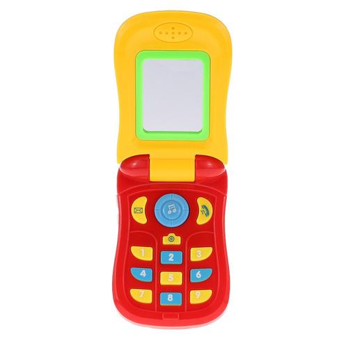 coolplay colorido juguete telfono celular del beb de la