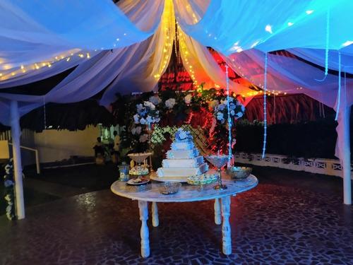 coordinación general de eventos, decoración y alquiler