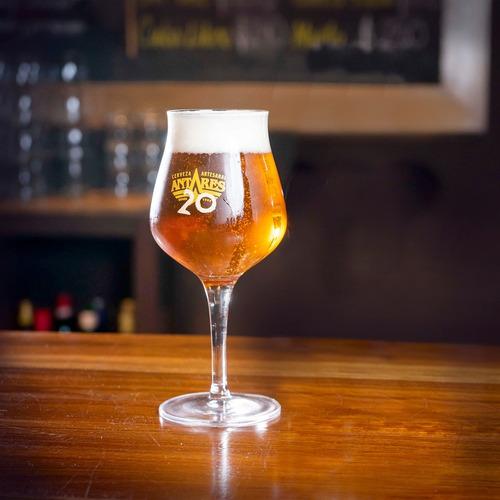 copa antares xx años x 6 unidades cerveza artesanal antares