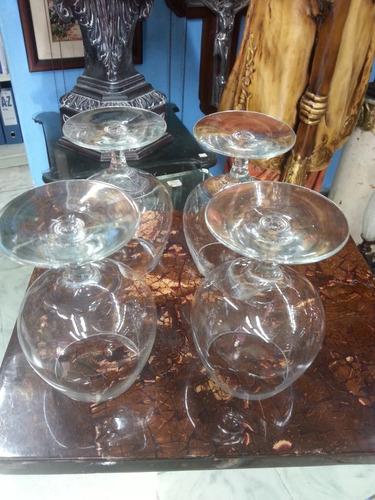 copa antigua de cristal importada para vino precio x c/u