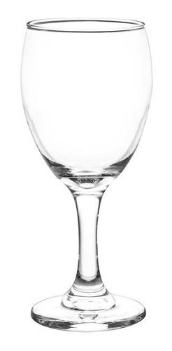 copa aragon cristar agua vidrio resistente caja x24