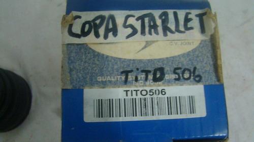 copa caja de toyota starlet titanium